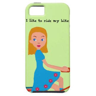 Funda Para iPhone SE/5/5s Tengo gusto de montar mi bici
