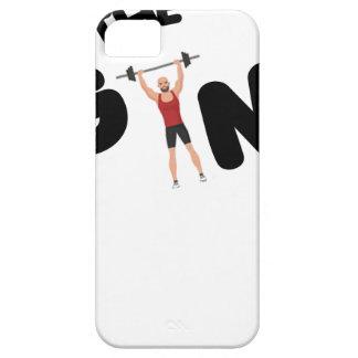 Funda Para iPhone SE/5/5s Textos divertidos del gimnasio