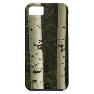 Funda Para iPhone SE/5/5s Textura de un retrato del bosque