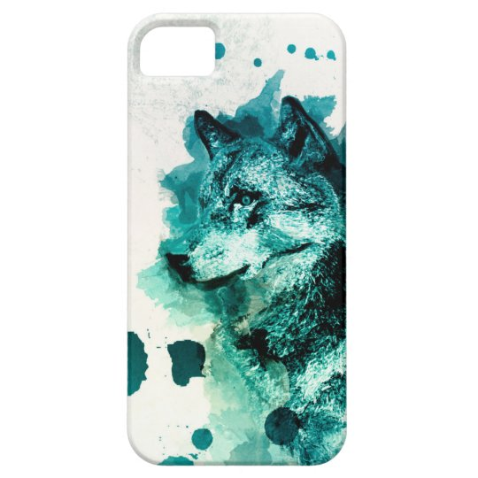 Funda Para iPhone SE/5/5s The Wolf