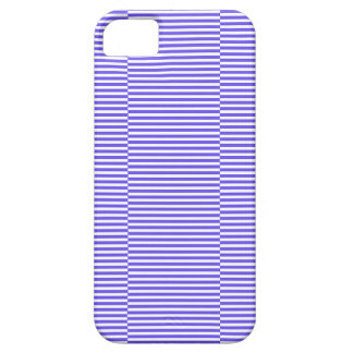 Funda Para iPhone SE/5/5s Tiras - azul y blanco