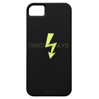 "Funda Para iPhone SE/5/5s ""Toda la"" caja negra del teléfono de la avenida"