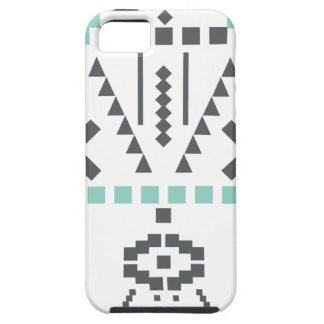 Funda Para iPhone SE/5/5s Tótem de Boho, símbolo étnico, Hippie, Azteca,