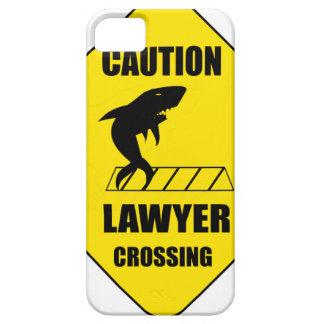 Funda Para iPhone SE/5/5s Travesía del abogado con el tiburón