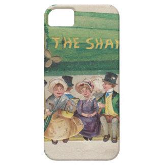 Funda Para iPhone SE/5/5s Trébol original del vintage del día de San