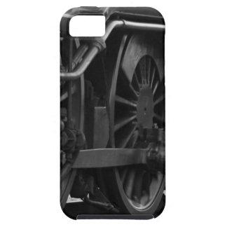 Funda Para iPhone SE/5/5s Tren blanco y negro