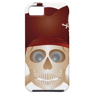 Funda Para iPhone SE/5/5s Tres cráneos con la bandera