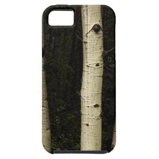 Funda Para iPhone SE/5/5s Tres pilares del bosque