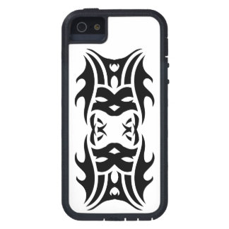 Funda Para iPhone SE/5/5s Tribal iphone 11 black over white