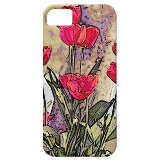 Funda Para iPhone SE/5/5s Tulipanes de la primavera