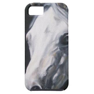 Funda Para iPhone SE/5/5s Un caballo blanco