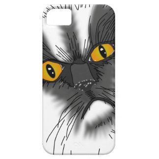 Funda Para iPhone SE/5/5s Un gato gruñón no todo aquí