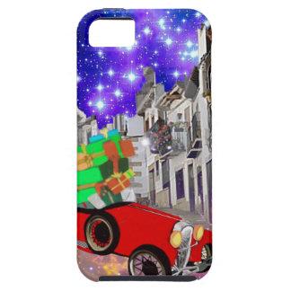 Funda Para iPhone SE/5/5s Un montón hermoso del coche de regalos bajo noche