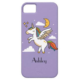 Funda Para iPhone SE/5/5s Unicornio del vuelo