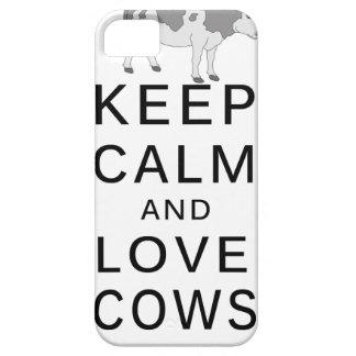 Funda Para iPhone SE/5/5s vacas del amor