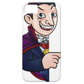 Funda Para iPhone SE/5/5s Vampiro de Halloween del dibujo animado que señala
