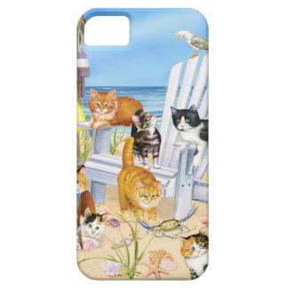 Funda Para iPhone SE/5/5s Vare el SE del iPhone de los gatitos del vago y la
