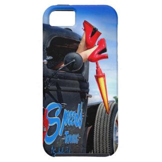 Funda Para iPhone SE/5/5s Velocidades que remolcan el Rockabilly Betty del