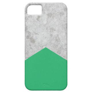 Funda Para iPhone SE/5/5s Verde concreto #175 de la flecha