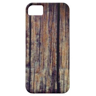 Funda Para iPhone SE/5/5s Vieja caja de madera del teléfono