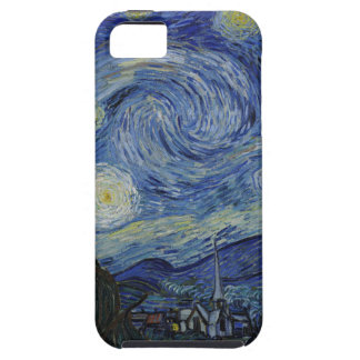 Funda Para iPhone SE/5/5s Vincent van Gogh - noche estrellada. Pintura del