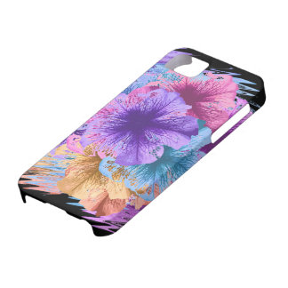 Funda Para iPhone SE/5/5s Violetas idas salvajes