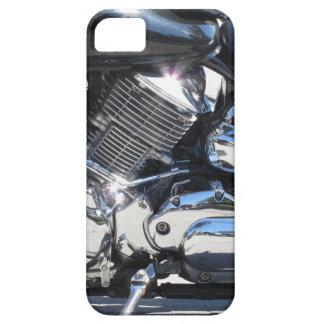 Funda Para iPhone SE/5/5s Vista lateral cromada motocicleta del detalle del