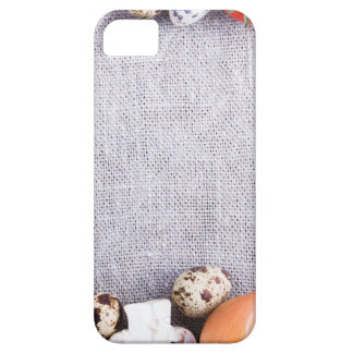 Funda Para iPhone SE/5/5s Vista superior de los ingredientes alimentarios en