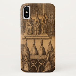 Funda Para iPhone X 1651 papas ceremoniales Clemente VIII de