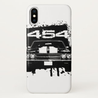 Funda Para iPhone X 454 Chevy