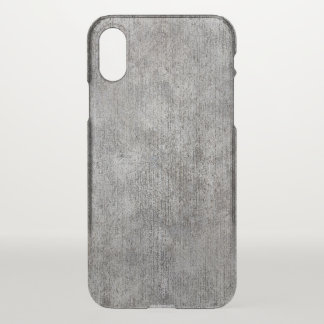 Funda Para iPhone X Acera gris resistida del cemento