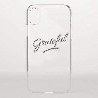 Funda Para iPhone X Agradecido