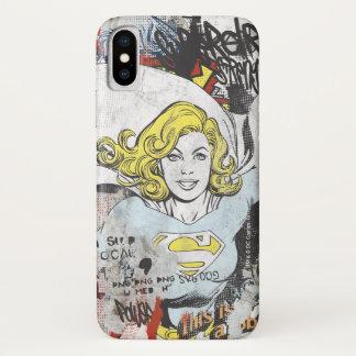 Funda Para iPhone X Alcaparras cómicas 3 de Supergirl