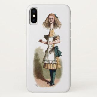 Funda Para iPhone X Alicia en el país de las maravillas más curioso