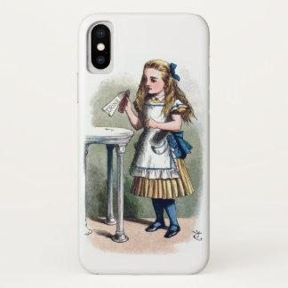 Funda Para iPhone X Alicia en el país de las maravillas me bebe