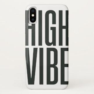 Funda Para iPhone X Alto caso de Iphone del ambiente