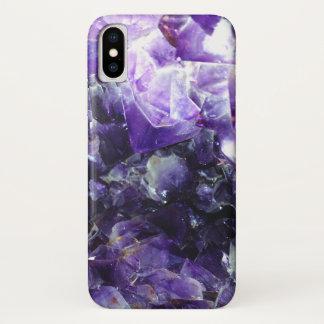 Funda Para iPhone X Amatista púrpura