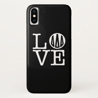 Funda Para iPhone X Amor del delta el | del delta del delta