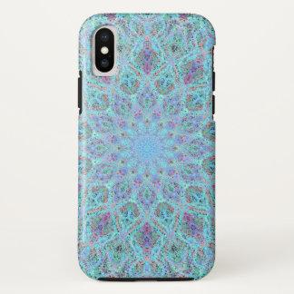 Funda Para iPhone X arabesque coloreado Boho-romántico del ornamento