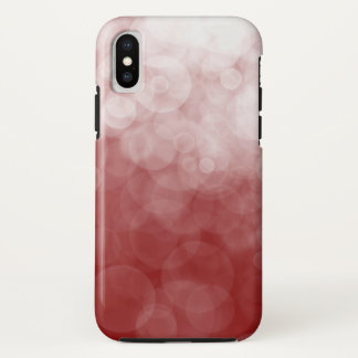Funda Para iPhone X Arándano manchado - caso del iPhone X de Apple