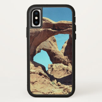 Funda Para iPhone X Arco doble con el cielo azul
