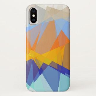 Funda Para iPhone X Arte abstracto geométrico