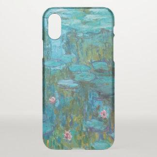 Funda Para iPhone X Arte de Nymphéas GalleryHD de los lirios de agua