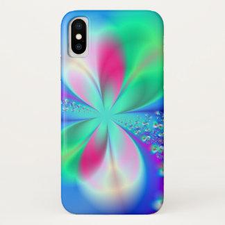 Funda Para iPhone X Arte del fractal de la danza del silfo