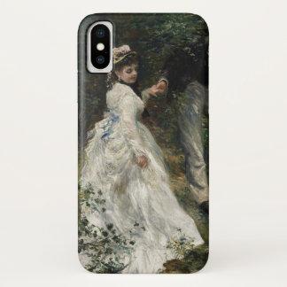 Funda Para iPhone X Arte impresionista de la pintura de Renoir de la