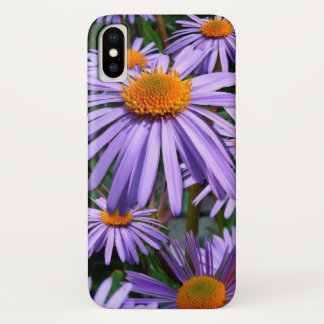 Funda Para iPhone X Asteres púrpuras