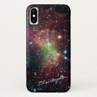 Funda Para iPhone X Astronomía conocida de encargo de la nebulosa de