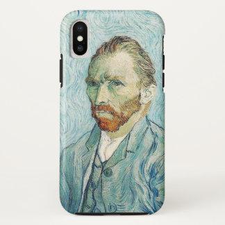 Funda Para iPhone X Autorretrato de Van Gogh