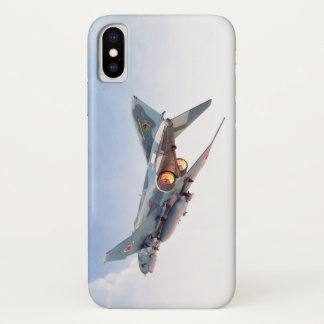 "Funda Para iPhone X Aviation Art Device Cass  ""F- 4 Phantom II  JASD"""