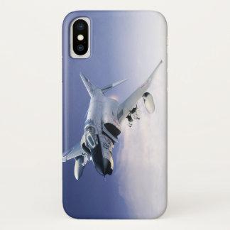 "Funda Para iPhone X Aviation Art Device Cass  ""F- 4EJ Phantom II JASD"""